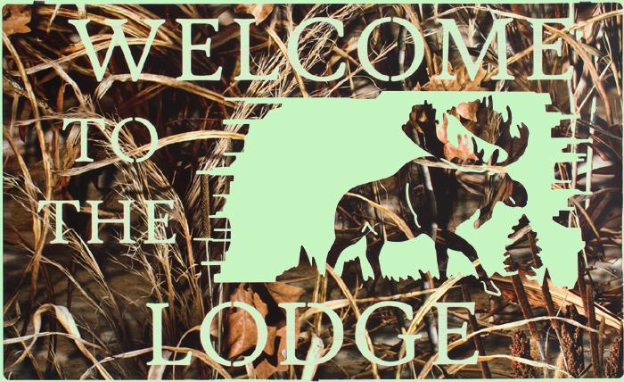 Lodge Realtree MAX4 Camo Metal Wall Art